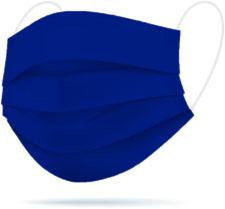 Mascherina TImask color Blu cobalto