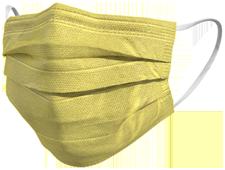 Mascherina chirurgica TImask colore oro