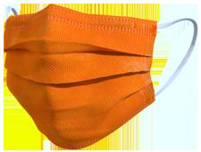 Mascherina TImask colore arancione