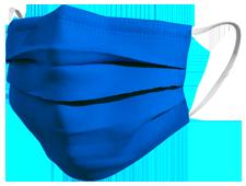 Mascherina chirurgica colore blu cobalto TImask