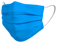 Mascherina TImask colore turchese
