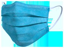 Mascherina TImask color azzurro