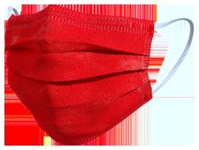 Mascherina TImask colore rosso
