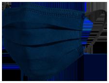 Mascherine chirurgiche TImask colore blu scuro