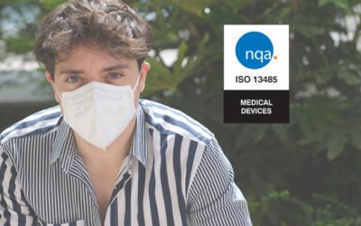 Cosa vuol dire la scritta EN 14683: 2019 sulle mascherine? TImask è certificata ISO 13485:2016.
